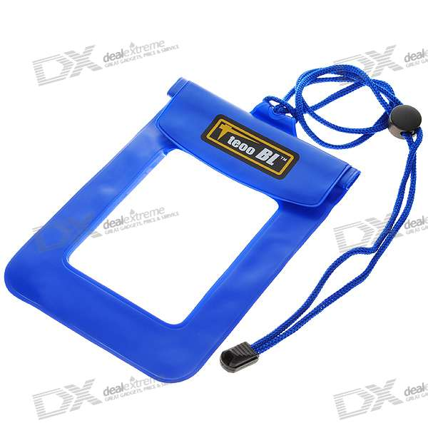Waterproof Dry Case for Cellphone/MP3/MP4/Digital Camera - Blue