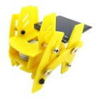 Solar Powered Assembly Robot DIY Kit Educational Toy - Yellow