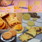 Creative Baking Letters Printed Biscuit Mold