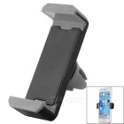Adjustable Car Vehicle Air Conditioner Outlet Mount Holder Bracket for Cellphone - Black + Grey