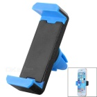 Adjustable Car Vehicle Air Conditioner Outlet Mount Holder Bracket for Cellphone - Black + Blue