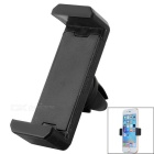 Adjustable Car Vehicle Air Conditioner Outlet Mount Holder Bracket for Cellphone - Black