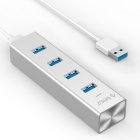 ORICO H4013 High Speed 5Gbps 4-port USB 3.0 Aluminum Hub With Type-A USB 3.0 Cable