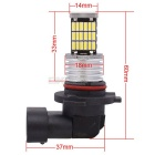 MZ 9006 HB4 9W Car LED Front Fog Lamp / Headlight / Daytime Running Light White 45-4014 SMD 450lm