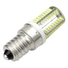 Marsing E14 Cross Silicone Seal 8W 600lm 6500K 66-SMD 3014 LED Cool White Light Bulb (AC 220V)