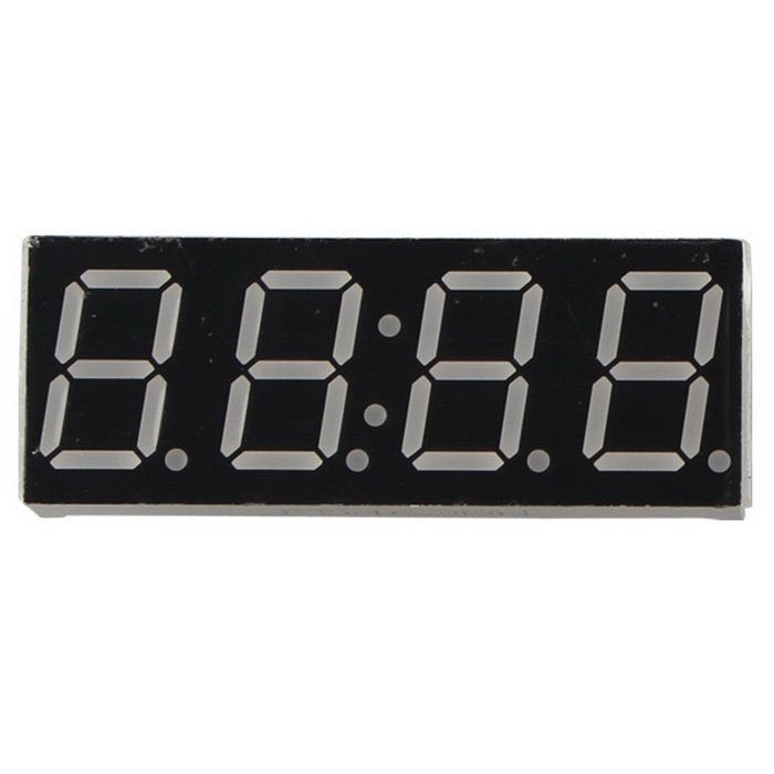 4-Digit 14-Pin Time Display Common Cathode 0.56 Inches Digital Tube Display Module for ArduinoLCD, LED Display Module<br>Form ColorBlack + White + Multi-ColoredModelN/AQuantity1 DX.PCM.Model.AttributeModel.UnitMaterialPCBScreen TypeOthers,Digital TubeScreen Size5.1 DX.PCM.Model.AttributeModel.UnitWorking Voltage   5 DX.PCM.Model.AttributeModel.UnitDownload Link   NoPacking List1 x Time nixie tube<br>