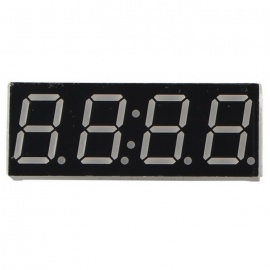 4-Digit 14-Pin Time Display Common Cathode 0.56 Inches Digital Tube Display Module for Arduino