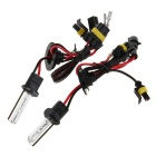 H1 35W 4300K Warm White Light HID Xenon Lamp for Car / Motorcycle - Transparent (12V / 2PCS)