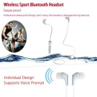 In-ear Sport Bluetooth 4.1 Headphone com microfone, mãos-livres - branco