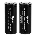 Xpower IMR 26650 3300mAh Batteries - Black + White (2PCS)