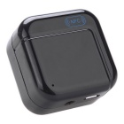 3.5mm Bluetooth V2.1 Stereo Audio Music Receiver Adapter w/ NFC A2DP - Black