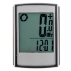 Multifunctional Wireless LCD Bicycle Computer Odometer Speedometer - Black