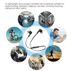 Bluetooth V4.1 Hands-Free In-Ear Sport Earphones w/ Mic - Black