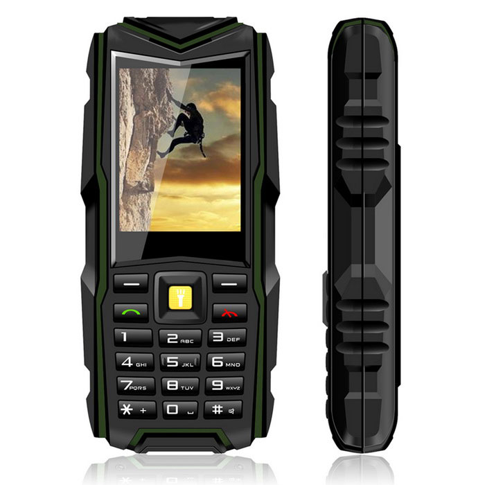 "VKWORLD VKStone V3 Bar Phone w/ 2.4"" Screen,64MB RAM, 64MB ROM - Green"