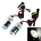 H1 35W 5000K White Light HID Xenon Lamp for Car / Motorcycle (12V / 2 PCS) - Transparent