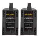 11.1V 1600mAh 20C Li-Po Powerful Battery Cells for Parrot Bebop Drone 3.0 - Black (2PCS)