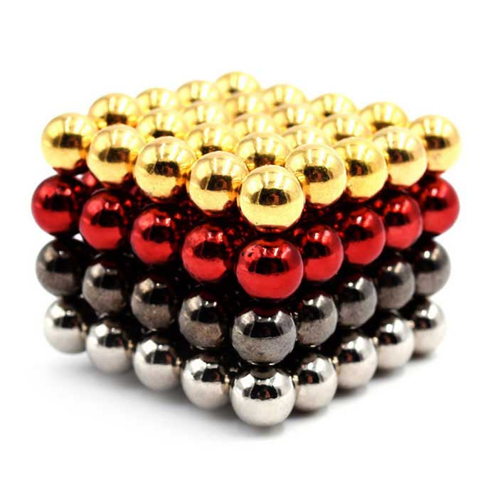 5mm Round Puzzle Magnetic Toys - Gold + Silver (100PCS)Magnets Gadgets<br>Form ColorGolden + SilverMaterialMagnetQuantity1 SetNumber100Suitable Age 3-4 Years,5-7 Years,8-11 Years,12-15 Years,GrownupsPacking List100 x Magnetic balls<br>