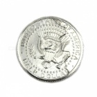 Magic Props Bijt Break Reduction Half Dollar Coin-zilveren