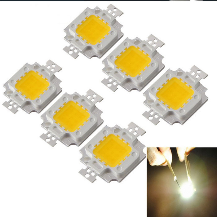 YouOKLight 6PCS DIY 10W Cold White Light Integrated LED Module