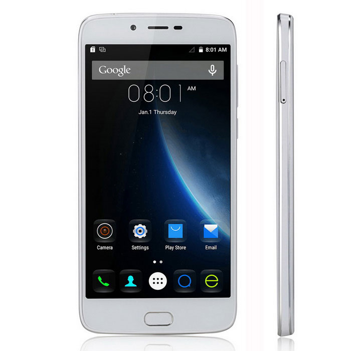 DOOGEE Y200 Android 5.1Quad-Core 4G Phone -White