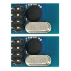 2.4G SE8R01 Wireless Transceiver Module Similar with NRF24L01 for DIY - Black + Blue (2PCS)