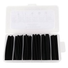 "IZTOSS PJ-081 1/2"" 3/8"" 1/4"" 3/16"" 1/8"" 3/32"" 87PCS Dual-Wall 3:1 Heat Shrink Tubings Set - Black"
