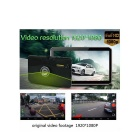 "7 ""HD Android 4.4 GPS, DVR coche, Tablet PC w / 16GB ROM, AU Mapa - Negro"