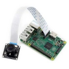 Waveshare 170 degree Fisheye Lens Camera Module for Raspberry Pi (Support 1080p Video Record)
