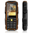 "VKWORLD VKStone V3 OTG robust telefon m / 2,4 ""skjerm, 64 MB RAM, 64 MB ROM - Orange"