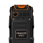 "VKWORLD VKStone V3 OTG robust telefon m / 2,4 ""skjerm, 64 MB RAM - Orange"