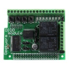 Digital Input Output Board DIDO Module for Raspberry Pi 2 Model B / B+ / A+ - Green + Black