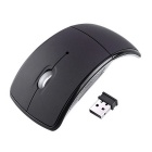 USB Wireless 2.4GHz Arc Folding Mouse for Laptop Tablet PC