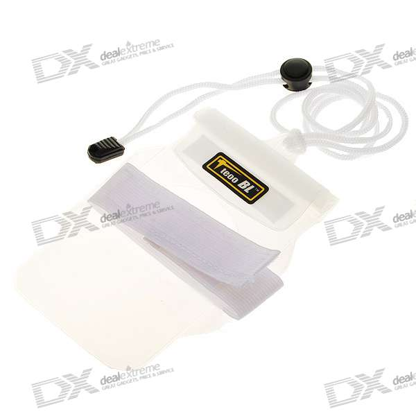 Waterproof Dry Case for Cellphone/MP3/MP4/Digital Camera - White