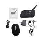 VNETPHONE V6C-1-EU Full-Duplex Football Game Referee Monaural Interphone Headset - Black