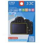 JJC HD Screen Protectors for Canon 100D KISS X7 Rebl SL1 - Transparent