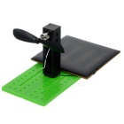 DIY Assembly Solar-Powered Electricity-Generating Experiment Kit - Green + Black