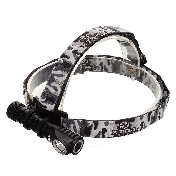 XTAR H3 CREE XM-L2 U3 LED Cold White 1000lm 5-Mode Outdoor Headlamp