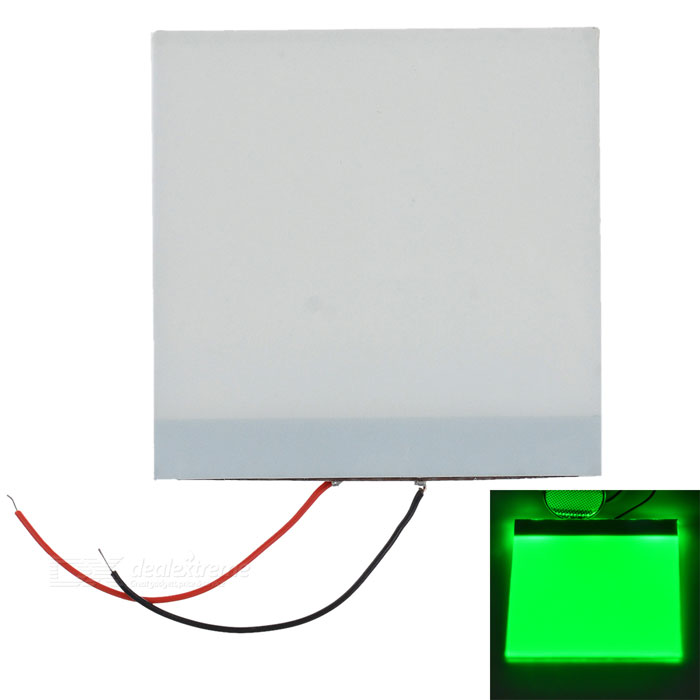 5*5*0.2cm DIY Green Light LED Backlight Light Guide Panel LGP for Arduino Raspberry Pi - White