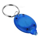 XTAR Mini Cold White Light LED Flashlight Keychain - Blue (1*CR2016)