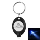 XTAR Mini Cool White Light LED Flashlight Keychain - Black (1*CR2016)