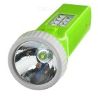 Environmental Protection 8 Side LEDs + 1 Voorkant LED Solar zaklamp - Green