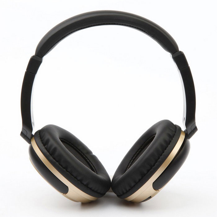 Stereo BT 3.0 Headset Sports Line-in Headphone w/ Mic - Black + GoldenHeadphones<br>Form  ColorBlack + GoldMaterialABSQuantity1 DX.PCM.Model.AttributeModel.UnitShade Of ColorBlackEar CouplingHeadbandBluetooth VersionBluetooth V3.0,Bluetooth 3.0Operating Range10mRadio TunerNoMicrophoneYesSupports MusicYesApplicable ProductsUniversalBuilt-in Battery Capacity 260 DX.PCM.Model.AttributeModel.UnitBattery TypeLi-ion batteryTalk Time6 DX.PCM.Model.AttributeModel.UnitMusic Play Time8HStandby Time120 DX.PCM.Model.AttributeModel.UnitPower AdapterUSBBrandOthers,N/AConnectionWired,3.5mm Wired,BluetoothHeadphone StyleBilateral,Headband,BluetoothWaterproof LevelIPX0 (Not Protected)Headphone FeaturesPhone Control,Volume Control,With MicrophoneSupport Memory CardNoSupport Apt-XNoSensitivity102dB+ / - 5dBFrequency Response20Hz~20KHzImpedance32 DX.PCM.Model.AttributeModel.UnitPacking List1 x Headset 1 x USB Cable  (0.7m) 1 x Audio Cable  (0.8m)1 x User Manual (English)<br>