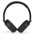 Stereo BT V3.0 Headset Sports Line-in Headphone w/ Mic - Black