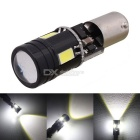 MZ BA9S T4W H6W 7W CanBus Auto LED Backup Lamp / achteruit / Parking Light White 4-5630 SMD