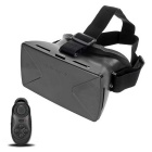"VR 3D Glasses w/ Bluetooth Control for 4~6.5"" Phone - Black"