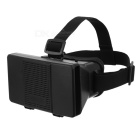 "Cardboard Virtual Reality VR Google 3D Glasses w/ Head Strap for 4~6.5"" Android / iOS Phones - Black"