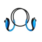 Wireless Stereo In-ear Sport Bluetooth 4.1 Music Headphone w/ Mic, Hands-free - Black + Blue