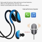 In-ear Sport Bluetooth 4.1 Music Headphone w/ Mic - Black + Blue
