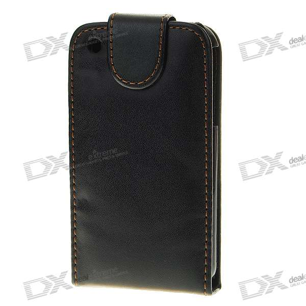 Protective Folding Leather Case for Iphone 3g/3GS - Black