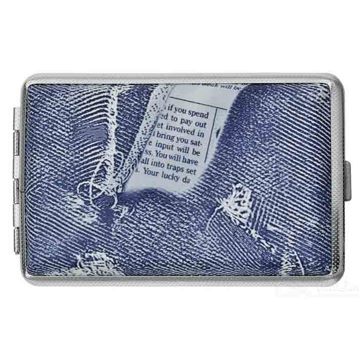 Fashionable Jeans Cigarette Case (Holds 20)